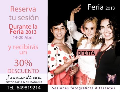 OFERTA DE FERIA 2013