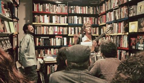 Febr. 2015. Librería La Fuga. La poesía vista desde el espacio. Poemario de David Eloy Rodríguez